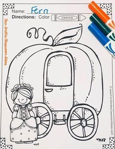Classic Children's Stories Coloring Pages - 44 Page Coloring Book Spring Coloring Pages, Coloring Book Pages, Printable Coloring Pages, Reading Centers, Writing Centers, Literacy Centers, Fairy Tales Unit, Parent Volunteers, Color Crayons