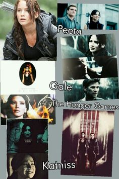 My hunger games collage :)
