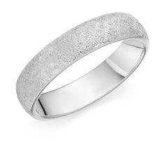 Rennie & Co's #Platinum 5mm Arintica #molton finish #wedding #ring