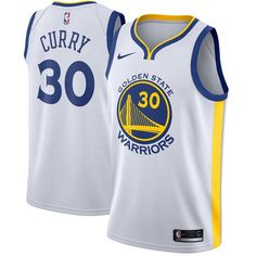 Golden State Warriors Jersey · Nike Warriors  30 Stephen Curry White NBA  Swingman Jersey Basketball Trikots 81c2b4a07
