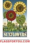 Sunflowers Garden Flag - 2 left Sunflower Garden, House Flags, Flag Decor, Garden Flags, Sunflowers, Folk Art, Country, Music, Musica