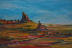 Ship Rock and the Buttes