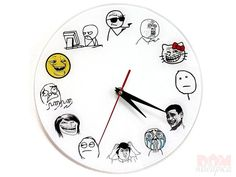 прикольные часы: 22 тыс изображений найдено в Яндекс.Картинках