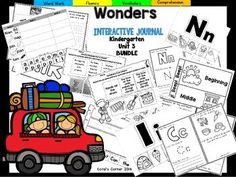 Coral's Corner has heard your feedback and is happy to present an Interactive Journal MEGA BUNDLE for Kindergarten McGraw Hill Wonders Unit 3!This 48 page Kindergarten interactive journal is aligned to Common Core and to the McGraw Hill Wonders series for Unit 2!.