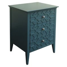 Threshold™ Fretwork Accent Table -  for guestroom?