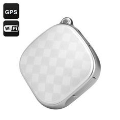 GPS Tracker + Locator (White)