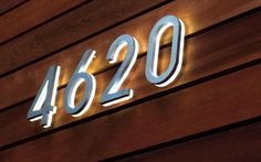 #CurbAppealContest - house numbers: 12500 LUXELLO | MODERN 8 BACKLIT LED HOUSE NUMBERS