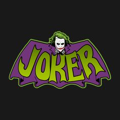 Shop J t-shirts designed by as well as other merchandise at TeePublic. Joker Comic, Joker Batman, Batman 1966, Joker Art, Dc Comics, Batman Comics, Batman Comic Art, Batman Tattoo, Joker T Shirt