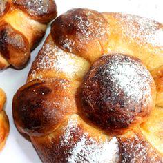 Pan de muerto for dia de los muertos. Recipe from happythought.co.uk