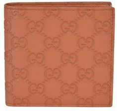bcc6ebea6950f Gucci Men s 150413 Tan Leather GG Guccissima W Coin Bifold Wallet any good