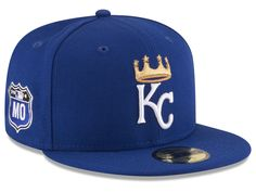 12a326a44cb4b Kansas City Royals New Era MLB Rep Your Team 59FIFTY Cap