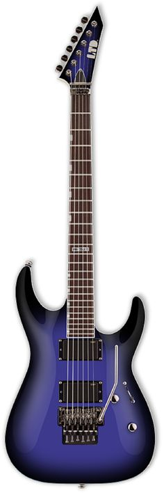 ESP LTD MH-330FR Purple Sunburst Electric Guitar