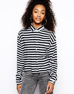 #stripes #righe #blackandwhite #shirt