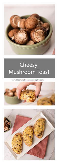 Cheesy Mushroom Toas