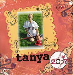Tanya/Softball 2007 - Scrapbook.com