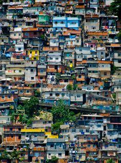 Rio de Janeiro - Favela em Santa Teresa - Puzzle