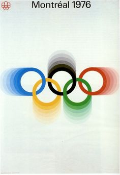 (Montreal Olympic Poster)