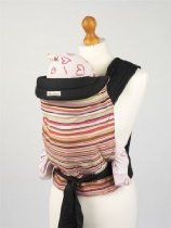 image of Palm & Pond Mei Tai Baby Sling with Coloured Stripes Design Color Stripes, Stripes Design, Best Baby Sling, Newborn Development, Kangaroo Care, Hip Problems, Best Baby Carrier, Baby Equipment, Thing 1