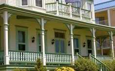 Beach Cottage Exterior Paint Colors | Pick a color palette from the later years of the Victorian era. Find ...