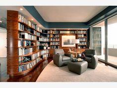 Home library design ideas - Home and Garden Design Idea's