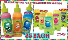 These products will make your kids Want to take a bath (hopefully). www.youravon.com/lindabacho #avonrep