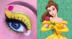 Disney Princess Belle Makeup Tutorial. Youtube channel: http://full.sc/SK3bIA