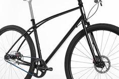 No. 3 Steel: titanium and steel urban bicycle by Paul Budnitz.
