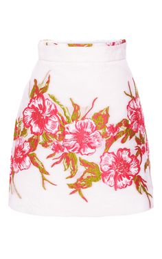 Floral Embroidered Mini Skirt by Blumarine for Preorder on Moda Operandi