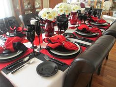 The Welcomed Guest: Valentine's Day Table