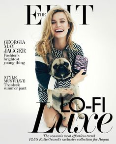 Georgia May Jagger - The Edit Magazine cover [UK] (June 27th 2013)