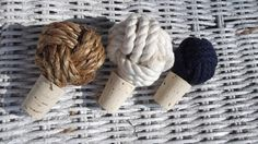 Sailor's Knot Wine Stopper | 36 Utterly Charming Nautical DIYs
