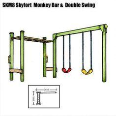 swing frame kids, playground swings, swingset kits, swing sets, playset kits, outdoor swing sets, log swing frames, DIY swing sets, monkey bar kits, jungle gym kits, peppertown, cubby house kingdom #indoorplayhousekits