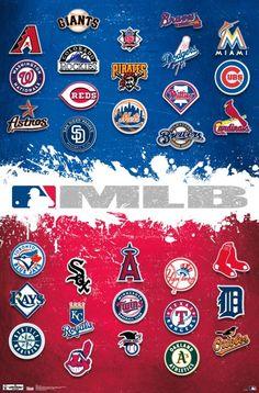 MLB - Logos 2012 Poster                                                                                                                                                                                 More