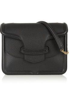 Alexander McQueen The Heroine large textured-leather shoulder bag | NET-A-PORTER #2015bags