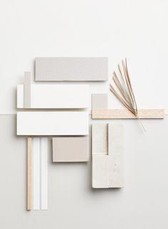 Material Board, Business Card Design Inspiration, Dream Home Design, Neutral Colour Palette, Colour Board, Collage, Minimal Design, Color Schemes, Colours
