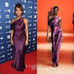 Purple Dress, One Shoulder, Formal Dresses, Fashion, Dresses For Formal, Moda, Formal Gowns, Fashion Styles, Lilac Dress