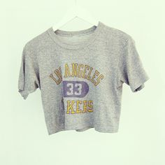 LA Lakers crop top Crop Shirt, Basketball, Crop Tops, Future, Game, Clothing, Mens Tops, Shirts, Outfits