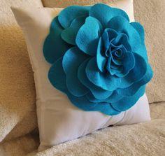 Homemade Mothers Day Ideas  Spring felt craft flower