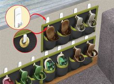 After seeing various tips in 10-Minute Tech on how to store shoes in an RV so you aren't tripping over them, I came up with my own idea. To make extra room for my shoes and keep them out of …