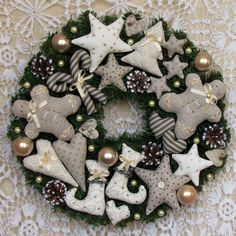Holiday Wreath, Christmas Wreath,Christmas Gift, Winter Wreath, Happy Holidays  Wreath, Door Wreath, 16 inch wreath