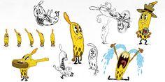 Character Designs da serie Pig Goat Banana Cricket, da Nick   THECAB - The Concept Art Blog