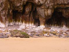 Rocks at Pendine