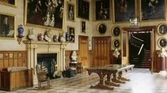 The Great Hall, Charlecote Park