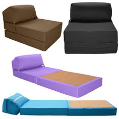Details About Sofa Bed Single Sofabed Armchair Microfibre Italfrom