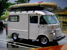 Grumman Camper Conversion by smallcamerajournal, via Flickr