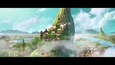 Chinese Animated Feature Trailer 我的师父姜子牙 Master Jiang and the Six Kingdoms. Gorgeous animation!