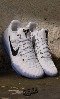 Nike Kobe 11 White/Black Cool Grey - looking cool deadly Clothing, Shoes & Jewelry : Women : Shoes : Nike http://amzn.to/2lCFtE5