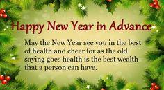 Advance Happy New Year 2018 Wishes hindi englsih