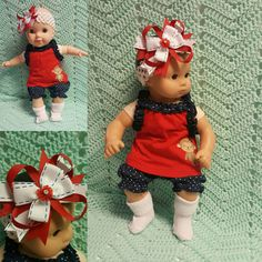 Baby Doll Clothes American Monkey 15 inch doll by TheDollyDama