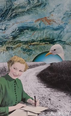collage 72. #papercollage